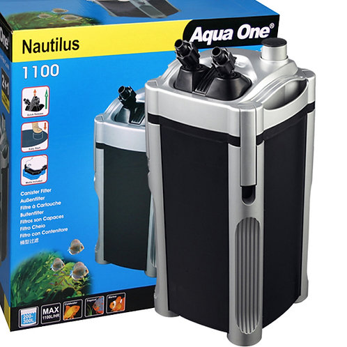 Buy Aqua One Nautilus 1100 External Canister Filter at Fishy Biz | South Australia | Tropical Marine Freshwater Fish