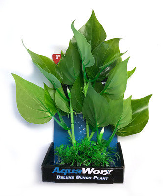 "PetWorx 8"" Silk Bunch Plant Assorted Styles | Fish Accessories | Aquarium Decorations | Fish Tank | Aquarium Adelaide | SA"