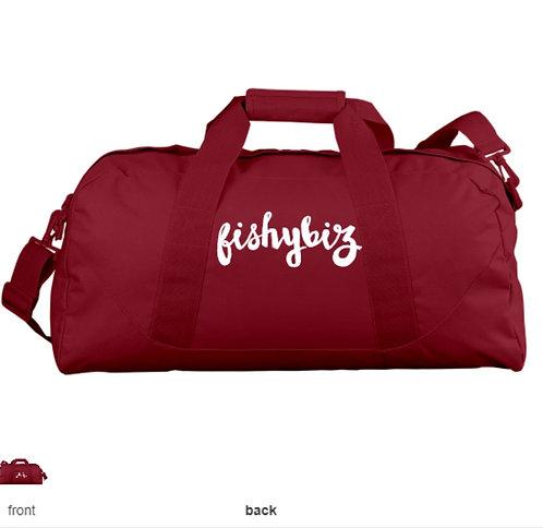 Fishy Biz Duffel Gym Bag