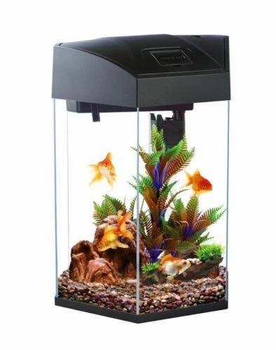 Blue Planet Hexagonal Glass HPLED Hexa Nano Fish Tank Aquarium 21L | Fishy Biz | South Australia