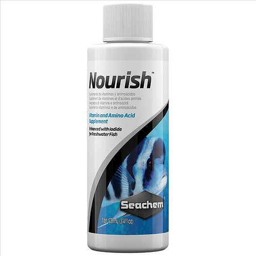 Seachem Nourish Vitamin Supplement | Fishy Biz | Aquarium Water Treatment | Aquarium Plant Food | Tropical Plants| Hydroponic