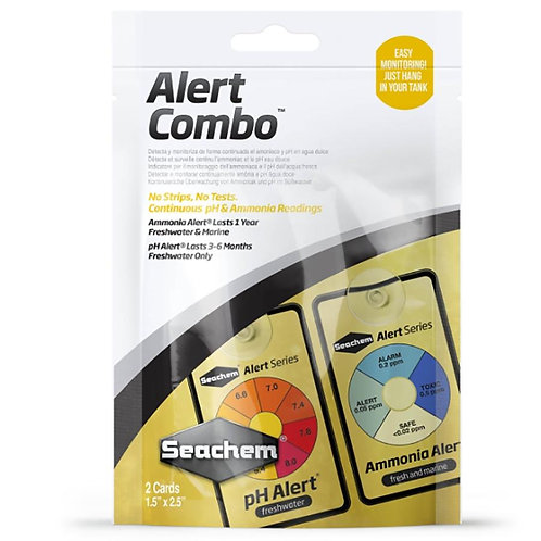 Seachem Alerts Combo Pack pH and Ammonia Constant Test