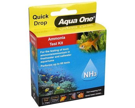 Aqua One Ammonia NH3 Test Kit   Fishy Biz   South Australia   Adelaide   Tropical Fish Shop   Water Treatment