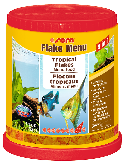 MENU  DIETS  -  TROPICAL  4 IN  1 FLAKE