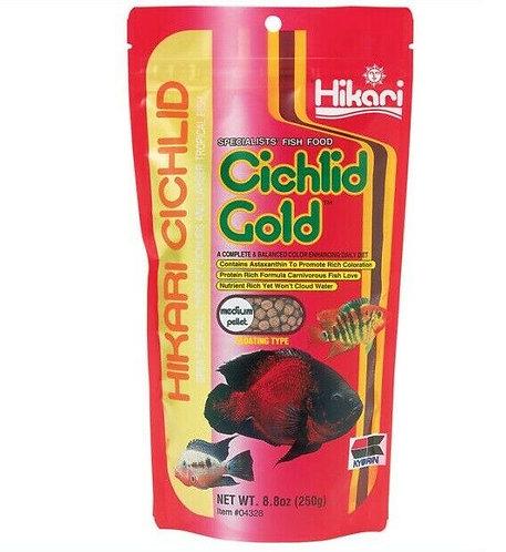 Hikari Cichlid Gold  (Medium Pellets) 250g | Cichlid | Fish Food | Pet Store | Aquarium | Fish Tank | Online Pet Store