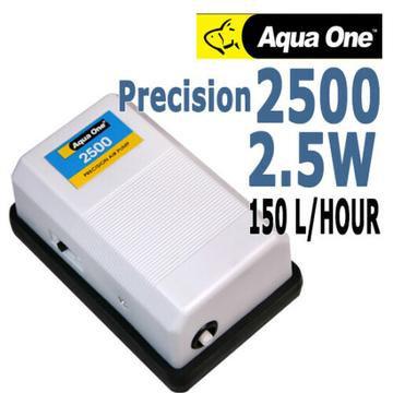 Buy Aqua One Precision Air Pump 2500 - Single Outlet | Fishy Biz | Online | Aquarium | Pond | South Australia | Fish Tank