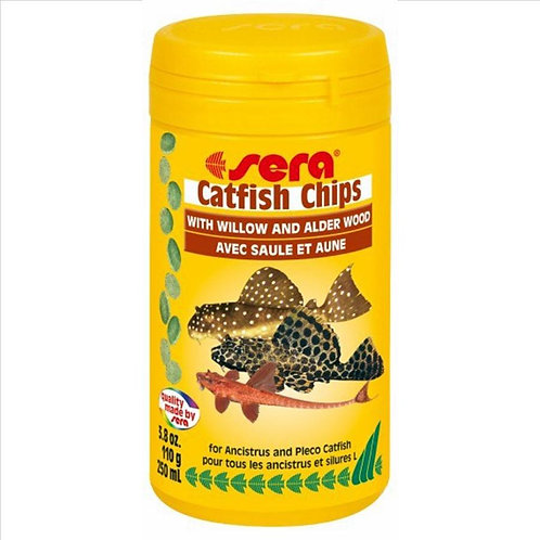 Sera Catfish Chips with Willow and Alder Wood