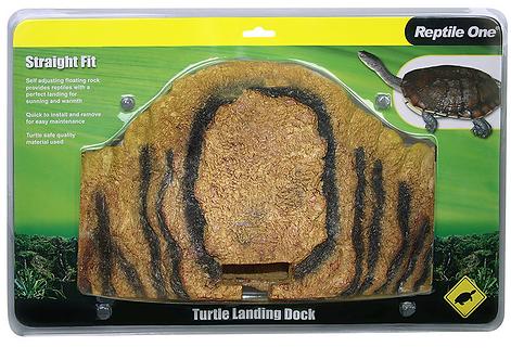 Buy Reptile One Turtle Landing Dock - Straight Fit 37cm x 20cm Online | Fishy Biz | Baby Turtle Adelaide | Australia