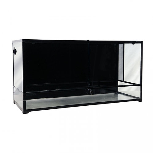 Buy Reptile One RTF-1200HT Glass Hinged Door Terrarium | Fishy Biz | Adelaide | Australia | Frog Tank | Snake Tank | Lizard