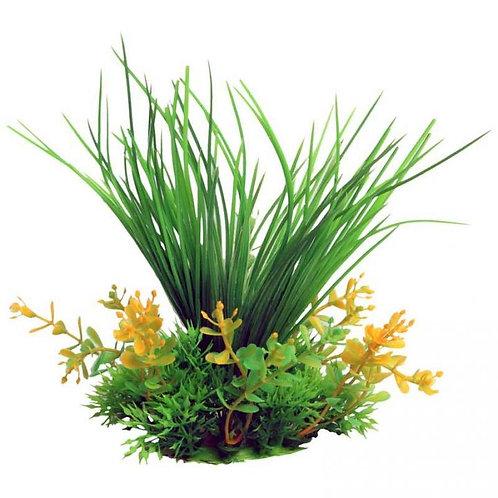 copy of Aqua One Ecoscape Small Blyxa Artificial Aquarium Plant Grass Green 10cm | Fishy Biz | Fish Tank Ornament Adelaide