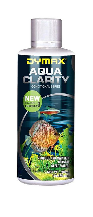 Buy Dymax Aqua Clarity 300ml | Fishy Biz | Water Conditioners | Aquarium Water Treatment Adelaide | South Australia