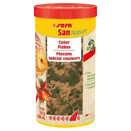 SAN NATURE - TROPICAL COLOUR ENHANCING FLAKE