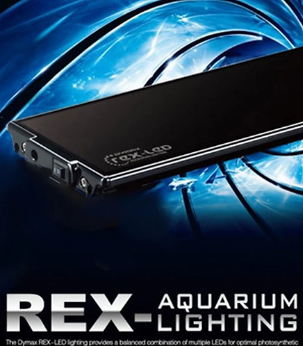 DYMAX REX LED AQUARIUM LIGHT PINK / WHITE 90CM - DM406