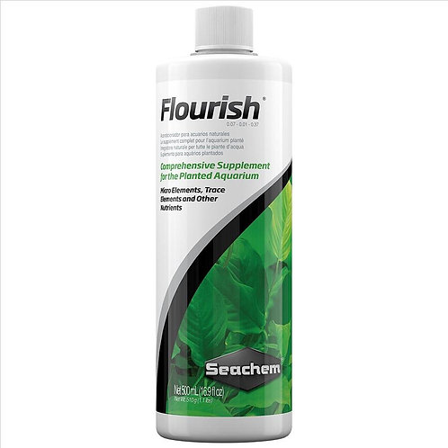 Seachem Flourish Plant Fertiliser | Fishy Biz | Aquarium Water Treatment | Aquarium Plant Food | Tropical Plants | Hydroponic