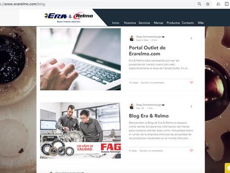 Bienvenida a Nueva Web EraRelmo.com