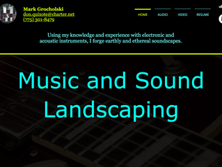 Music and Sound Landscaping Site Launch