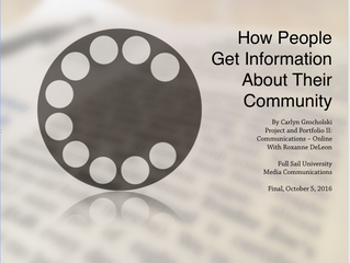 How People Get Information About Their Community