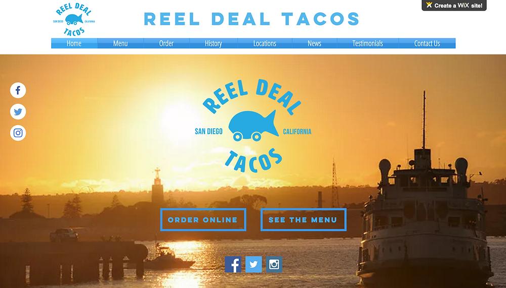 Reel Deal Taco Before