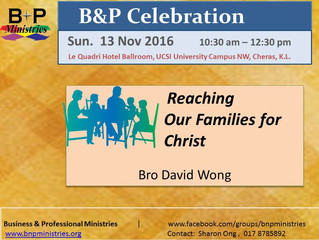 Reaching Our Families for Christ