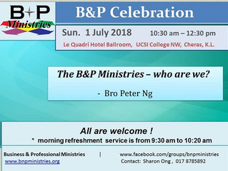 B&P Ministries - who are we?