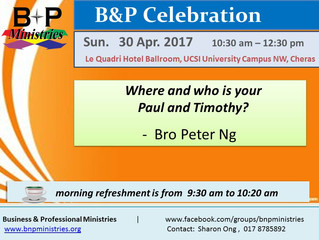 Who is Your Paul and Timothy?