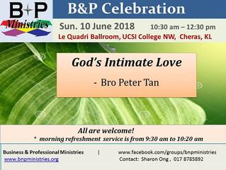 God's Intimate Love