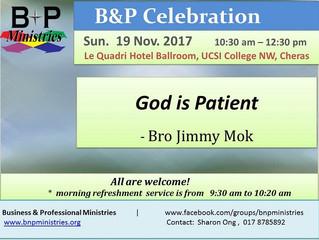 God is Patient