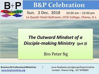 The Outward Mindset of a Disciple-making Ministry (Pt 3)