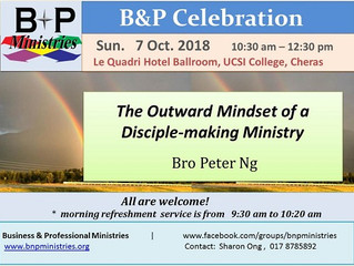 Outward Mindset of a Disciple-making Ministry