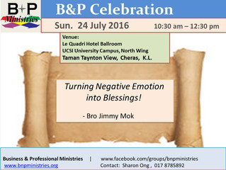 Turning Negative Emotion into Blessings