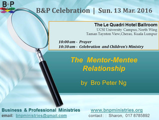 The Mentor-Mentee Relationship