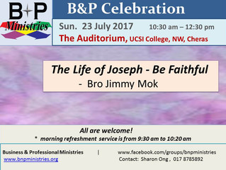 The Life of Joseph - Be Faithful