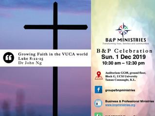 Growing Faith in the VUCA World