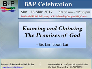 Claiming The Promises of God
