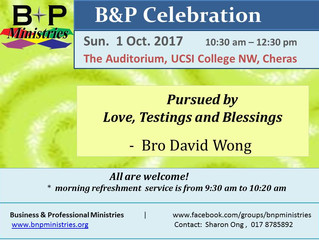 Pursued by Love, Testings, Blessings