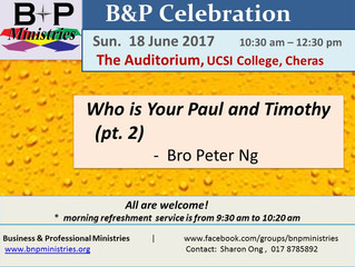 Who is Your Paul and Timothy