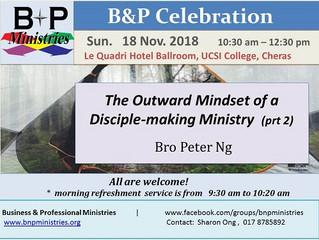 The Outward Mindset of a Disciple-making Ministry (part 2)