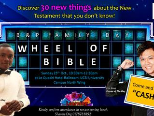 Fun at the Wheel of Bible