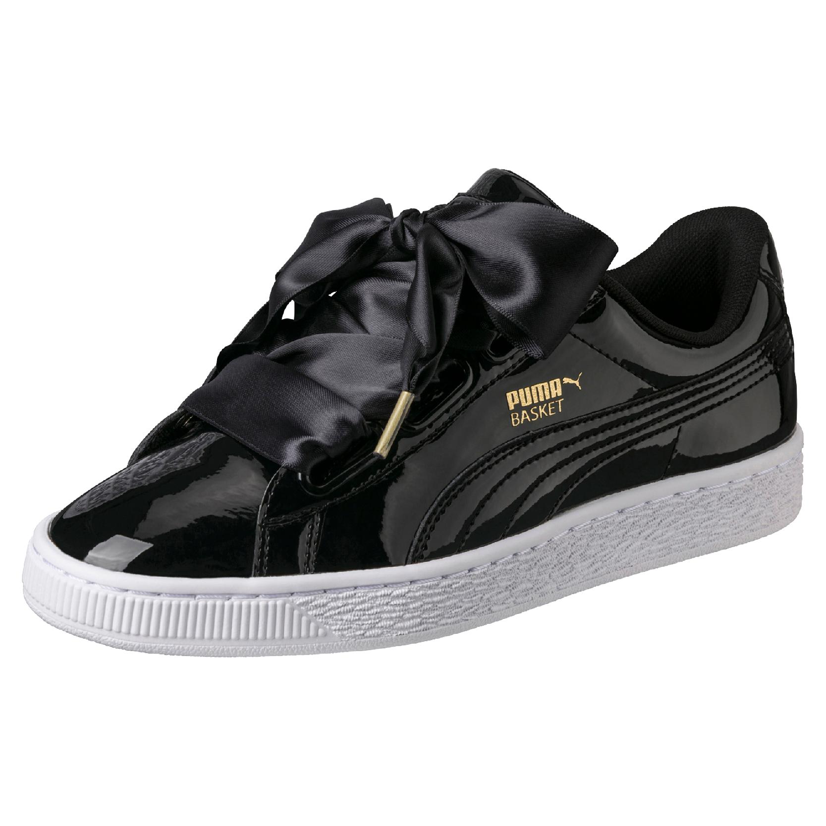puma basket schwarz weiß