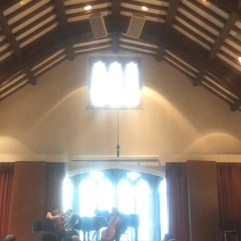 Renoir Trio Performs at Fulton Hall, University of Chicago