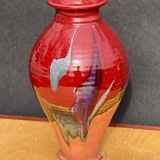 Medium Vase 11 to12 in. Ht. x 7 inch diam. $125