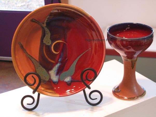 Communion Setting Chalice & Plate