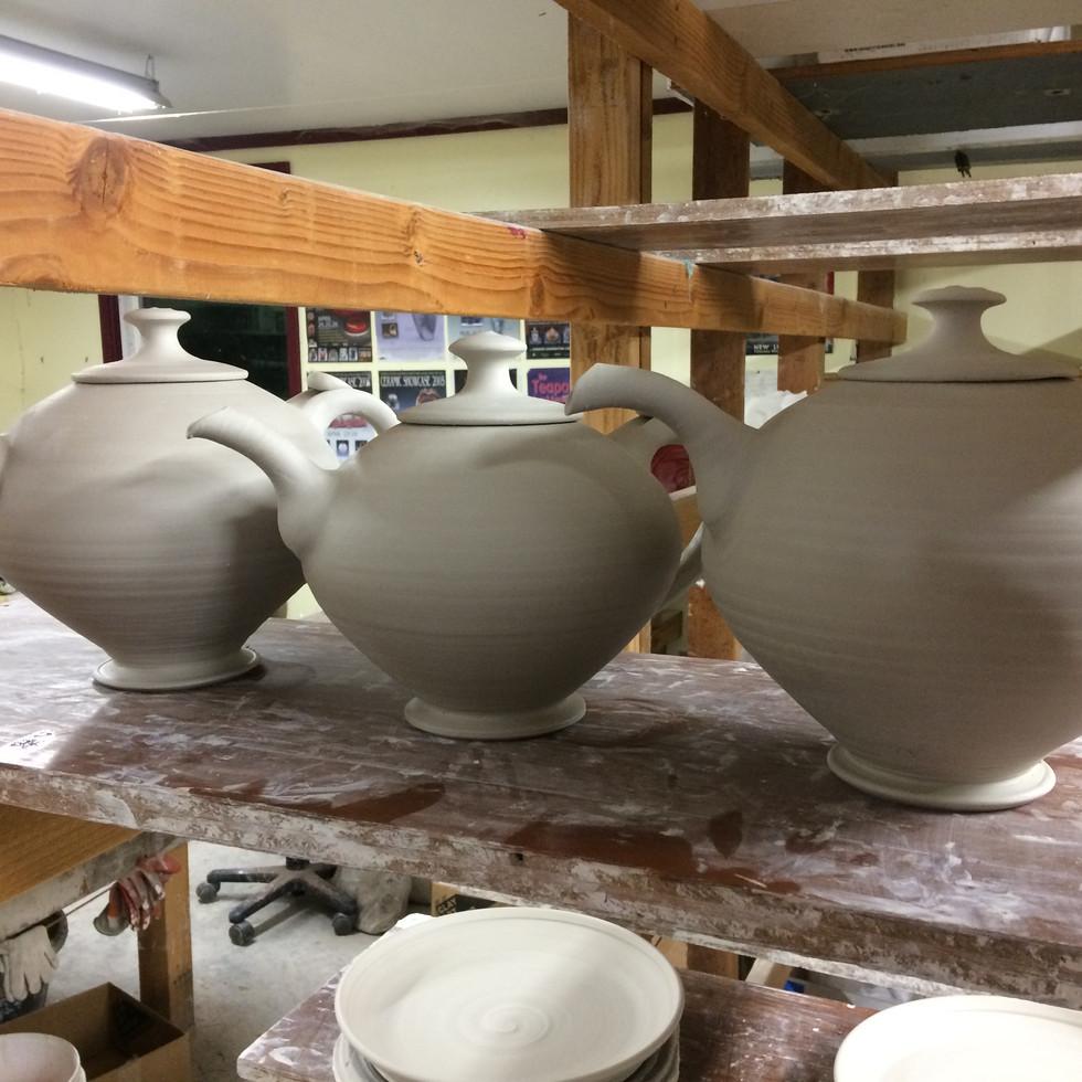 teapots pre-bisque fire IMG_9514.JPG