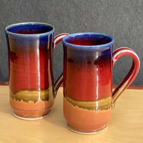Onishi mug 4 to 5 in. Ht. x 2.5 in diam. $32