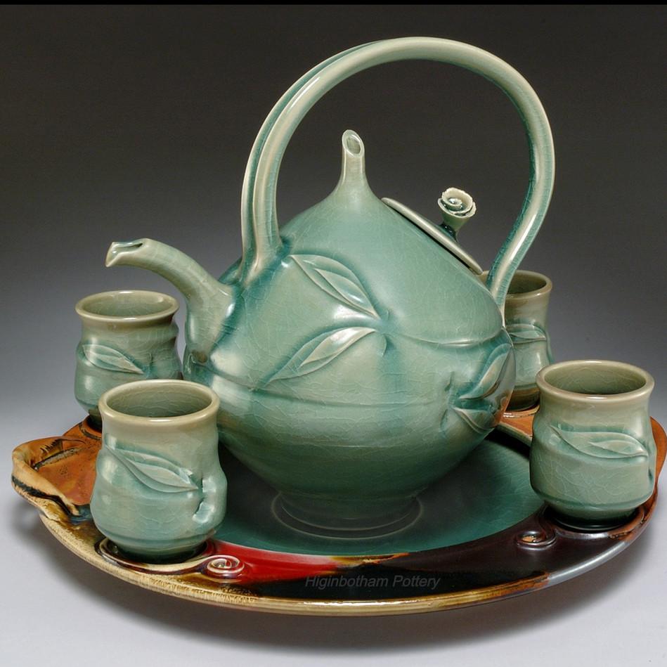 Celadon Tea Service