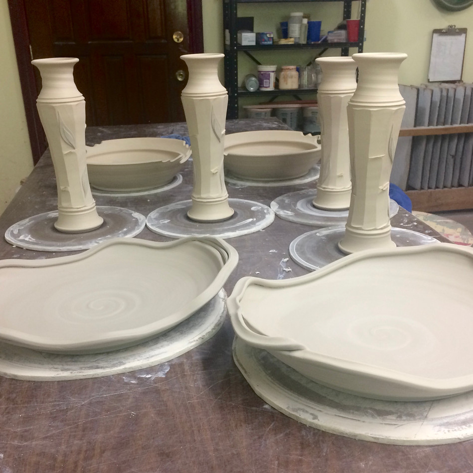 Facet Vases and XL wavy Platters IMG_913