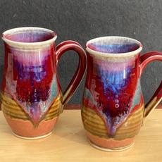 Curve-based Pear Mug 5 in Ht. x 3.5 in diam. $34