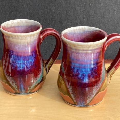 Small Mug 4 in Ht. x 3 in. diam. $30 (Closeup)