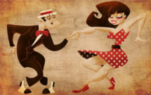 Big Band Orchestra-swing music- Stan Rubin Orchestra, jazz-swing dance band-lindy hop, BeBop""