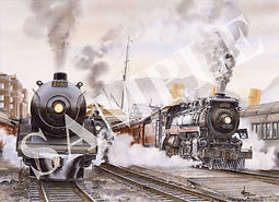 WENTWORTH D. FOLKINS - Engine 2860 & 270